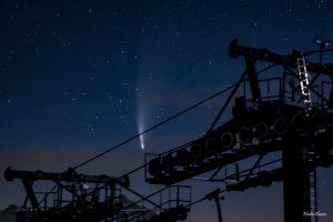 Comète Neowise2020/F3 à Punta Bagna